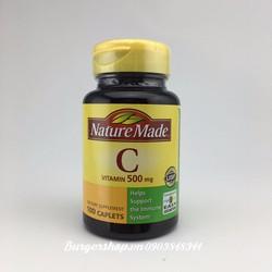 Nature Made Vitamin C 500MG - Viên bổ sung Vitamin C 100 viên