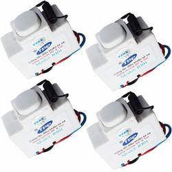 Bộ 4 hộp công tắc học tín hiệu điều khiển từ xa IR-RF TPE RI01