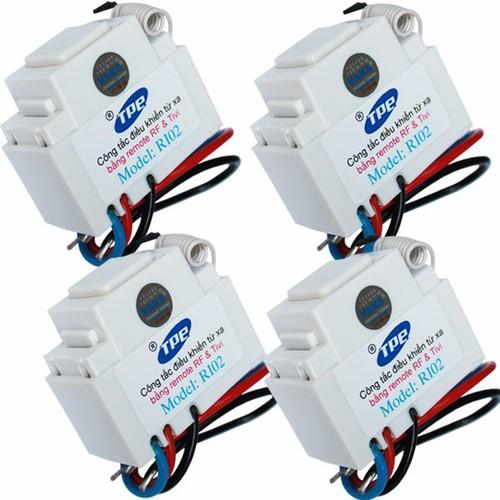 Bộ 4 công tắc học tín hiệu đk từ xa IR-RF TPE RI02 - 4196875 , 5191021 , 15_5191021 , 439000 , Bo-4-cong-tac-hoc-tin-hieu-dk-tu-xa-IR-RF-TPE-RI02-15_5191021 , sendo.vn , Bộ 4 công tắc học tín hiệu đk từ xa IR-RF TPE RI02