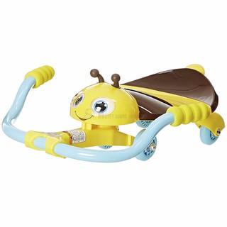Xe trượt Razor Jr. Twisti Lil Buzz Scooter - Nâu-Vàng - 25059640 thumbnail
