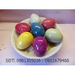 Bộ 7 quả trứng đá - Đồ phong thủy