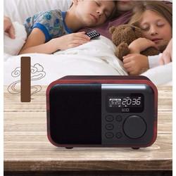 Đồng hồ báo thức bluetooth kèm radio đa chức năng Loci D90