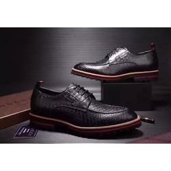 Giày tẩy nam chất liệu da mềm,phong cách công sở mới