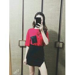 Chân váy ngắn dây kéo