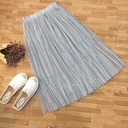 chân váy ren 3 lớp bồng bềnh