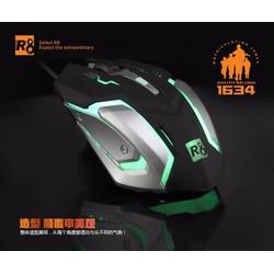 CHUỘT GAME R8 1634 CÓ LED NHIỀU MÀU