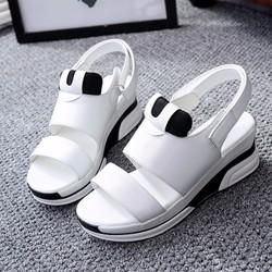 Giày Sandal Nữ dễ thương quai dán kiểu dáng thời trang - XS0395