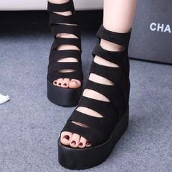 Giày Sandal đế xuồng S060