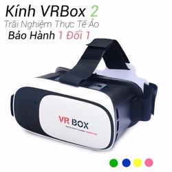 Kính thực tế ảo 3D VR Box 2 cho điện thoại
