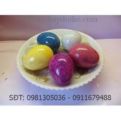Bộ 5 quả trứng đá - Đồ phong thủy