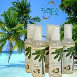 Dầu dừa ép lạnh Flora