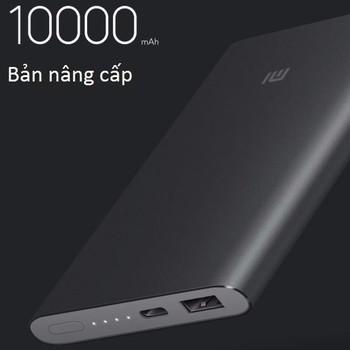 Pin dự phòng Xiaomi 10.000 mAh mới Gen 2 chính hãng