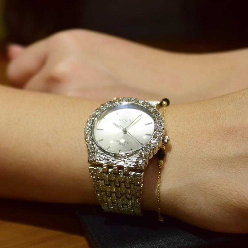 Đồng hồ đính hạt thời trang AL96 7