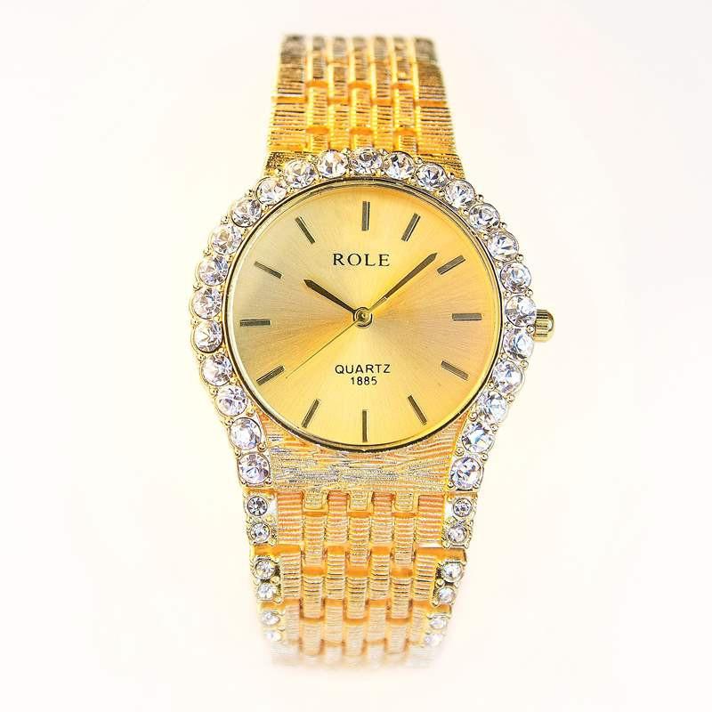 Đồng hồ đính hạt thời trang AL96 4