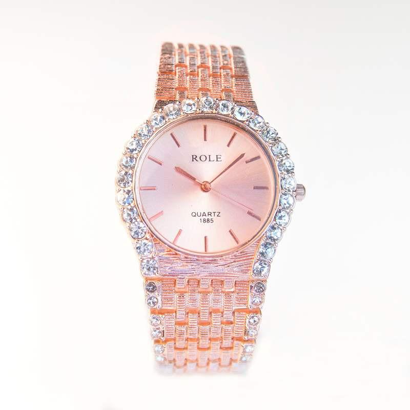 Đồng hồ đính hạt thời trang AL96 6