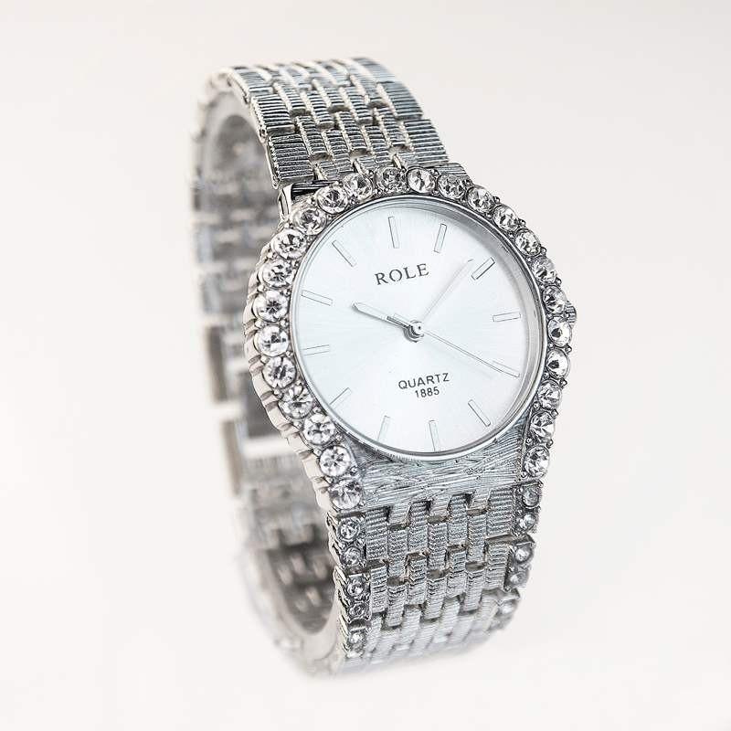 Đồng hồ đính hạt thời trang AL96 3