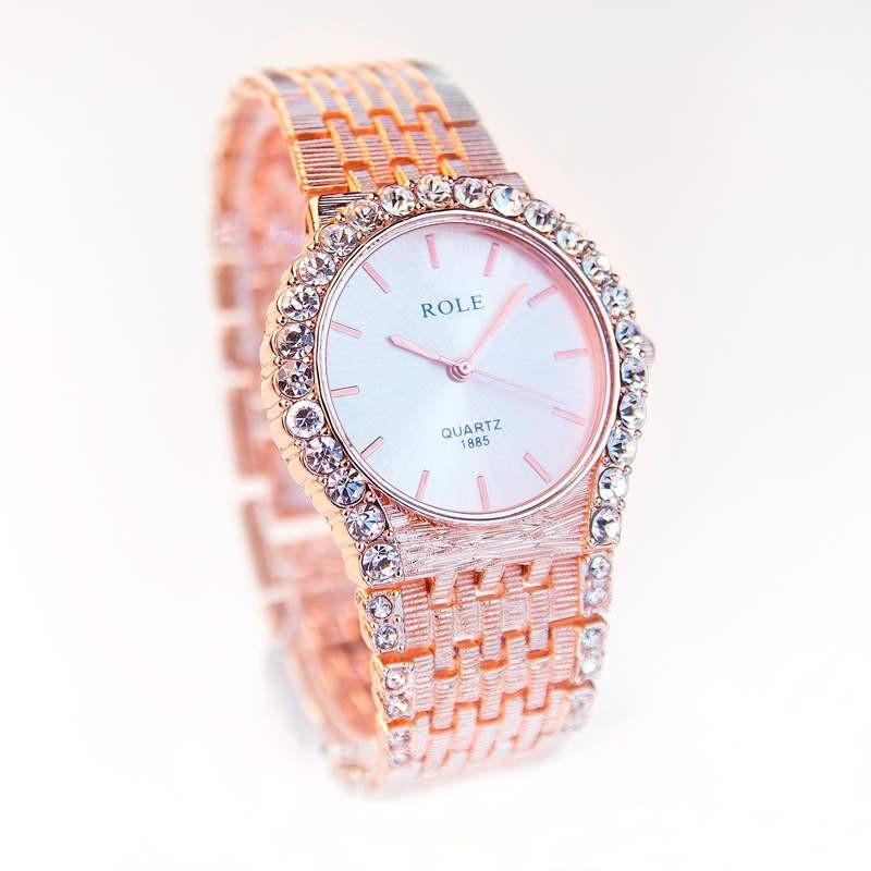 Đồng hồ đính hạt thời trang AL96 1