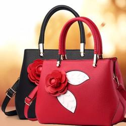 Túi xách thời trang hoa hồng