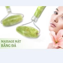 Cây massage mặt bằng đá cẩm thạch tự nhiên