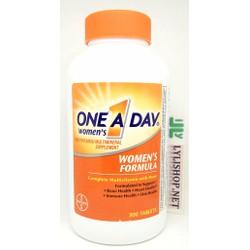 Vitamin cho nữ One a day women hãng Bayer chai 300 viên từ Mỹ