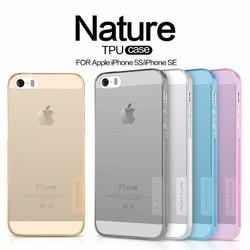 Ốp lưng iPhone 5s, SE Silicon Nillkin chính hãng giá cực tốt