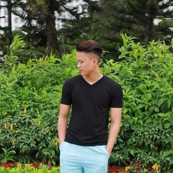 Quần đũi nam màu xanh da trời