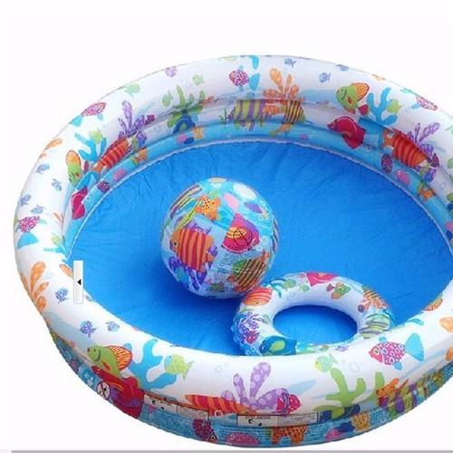 Bể bơi 3 tầng tặng kèm phao và bóng