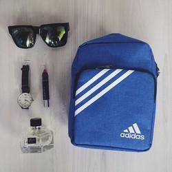 [Greenlife Shop] Túi đeo chéo mini trơn xanh