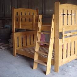 Giường tầng gỗ tự nhiên xuất Nhật