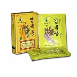 Dầu gội đen tóc Beauty Star Hàn Quốc  dây 10 gói