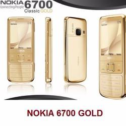 Nokia 6700 GOLD FULL BOX Chính Hãng Loại 1 + tăng Nokia 1100