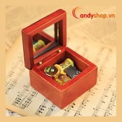 Hộp nhạc gỗ DIY - music box candyshop88.vn