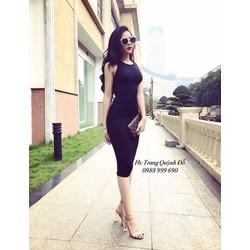 Đầm body chéo lưng _MỎ CHU SHOP