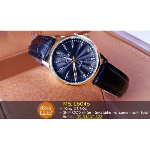 Đồng hồ nữ Longbo dây da sang trọng