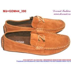 Giày mọi da nam phối chữ Z trẻ trung năng động GDM44