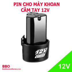 Pin máy khoan cầm tay 12V – 3S