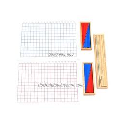 Bộ bảng học cộng trừ - Giáo cụ Montessori