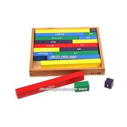 Bộ cộng trừ - Giáo cụ Montessori Mặc định