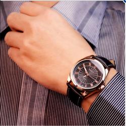 Đồng hồ dây da phong cách ROMATIC