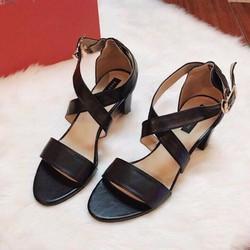 Giày cao gót đan chéo Hàng VNXK