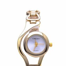 Đồng hồ nữ  kết hợp lắc tay thời trang