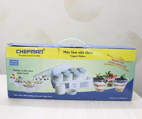 Máy làm sữa chua Chefman 12 cốc thủy tinh 2