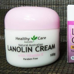 Kem Nhau Thai Cừu Healthy Care Lanolin Cream Vitamin E