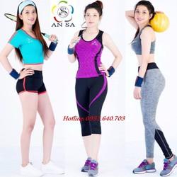 Chuyên sỉ và lẻ đồ thể thao, gym, aerobic,yoga nữ
