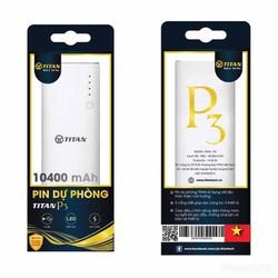 Pin sạc dự phòng Titan P3 10400mAh chính hãng