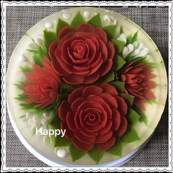 Bánh rau câu sinh nhật 3D - RC009