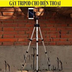 Giá đỡ chụp ảnh 3 chân cho điện thoại - Tripod