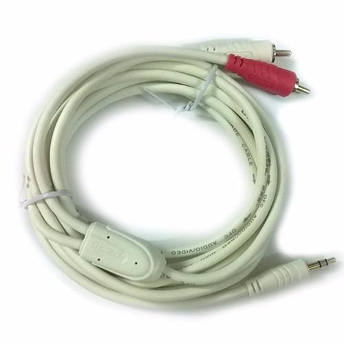 Cáp audio 3.5mm 1 ra 2 đầu RCA 3m