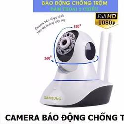 Camera ip mini 360 không dây ngoài trời wifi