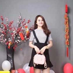 Set bộ váy yếm thời trang - SB18